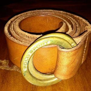 Rare Polo Ralph Lauren Polo Sport belt